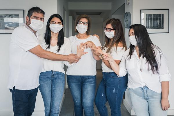Isa Arenas y su Familia