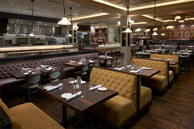 Restaurant Interior & Courtyard Photos