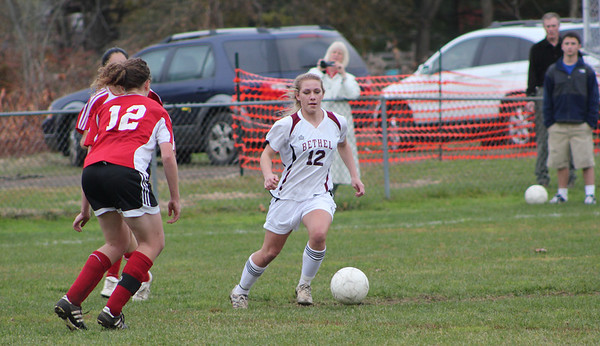 Varsity Girls Soccer vs Wilbur Cross - 11/10/2011