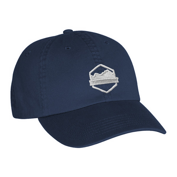 Organ Mountain Outfitters - Outdoor Apparel - Hat - Logo Dad Cap - Navy.jpg