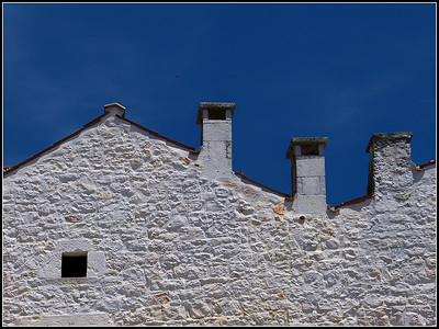 Roofs and chimney pots