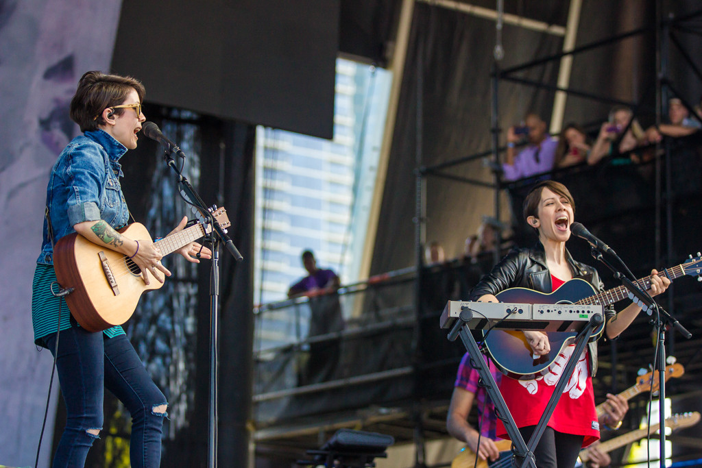 . Tegan and Sara at Lollapalooza
