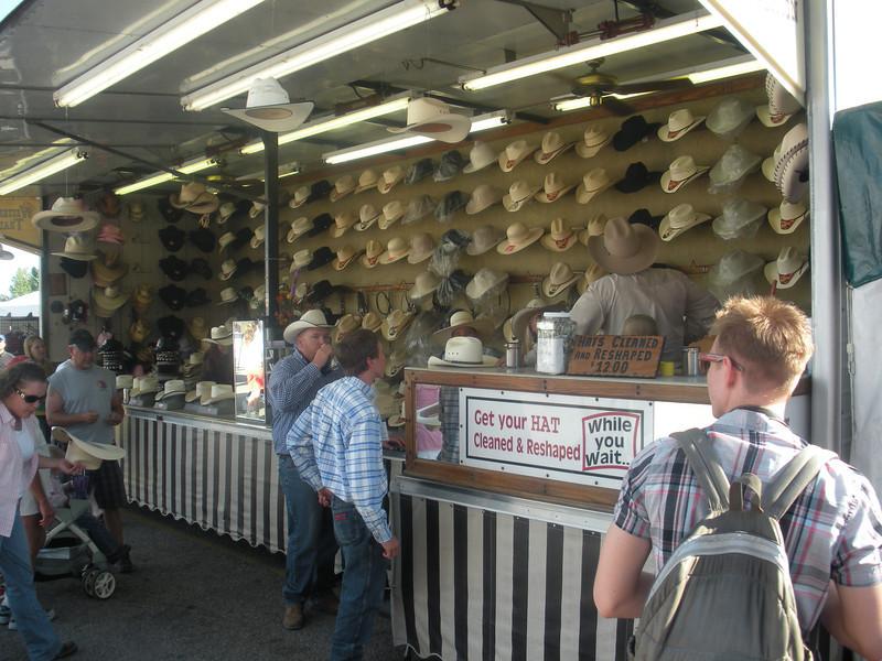Cowboy Hats at Cheyenne Frontier Days