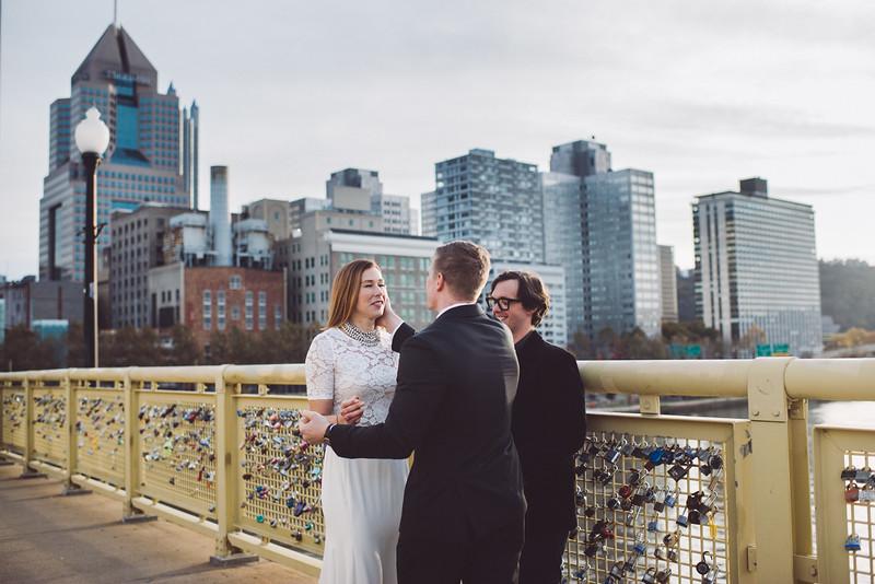 Pittsburgh Elopement Photographer - Monaco Bridge Downtown - Hadley-240.jpg