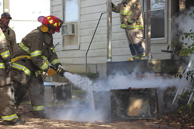 Center Fire Dept. responds to Wednesday afternoon fire