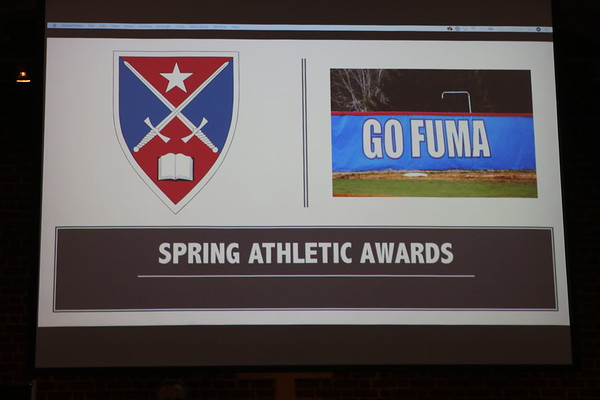 Spring Athletic Awards Ceremony