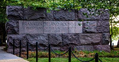 Franklin Roosevelt Memorial - Oct 2019