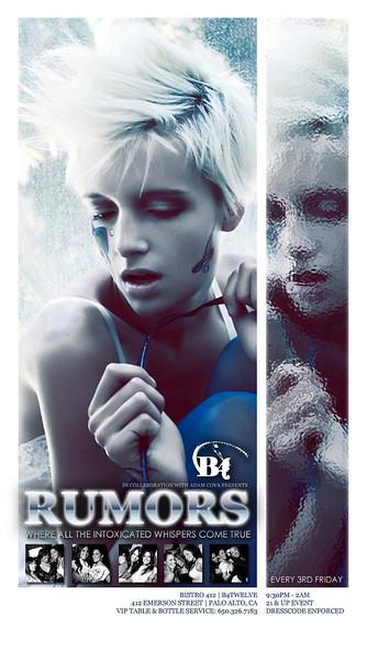 RUMORS The 80's Theme Edition @ B4TWELVE 9.17.10