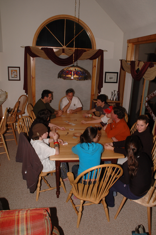 The big card game