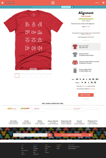 """""""Alignment"""" graphic designer t-shirt, pullover crewneck, and tank by Evan Stremke. 