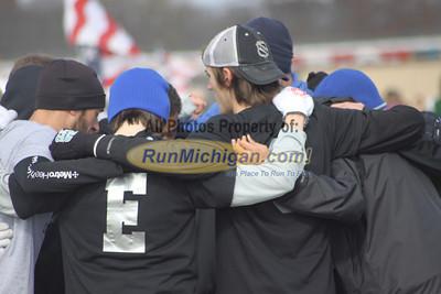 Start, D1 Boys - 2012 MHSAA LP XC Finals