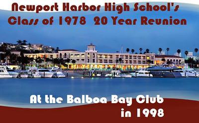NHHS Class of 78 20 yr Reunion