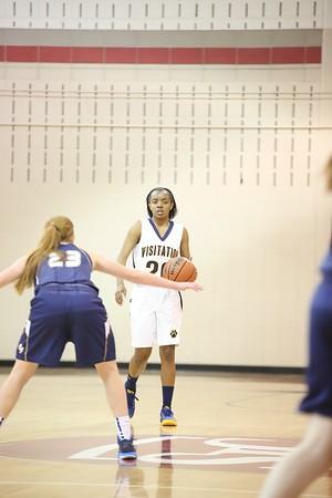Girls basketball: Visitation vs. Tina Thompson event