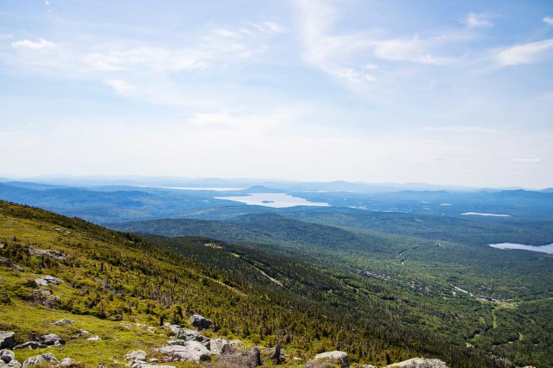 Rangeley Lake from Saddleback Mountain