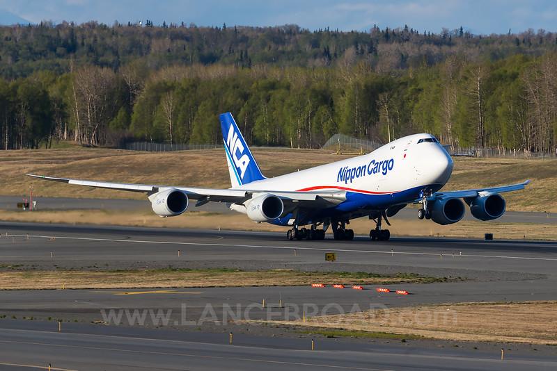 Nippon Cargo 747-8F - JA16KZ - ANC