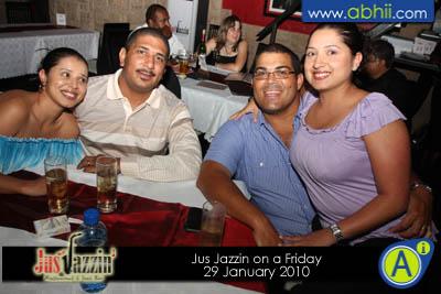 Jus Jazzin - 29th Jan 2010