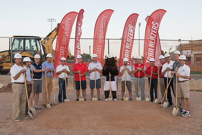 East Grand Stands Groundbreaking