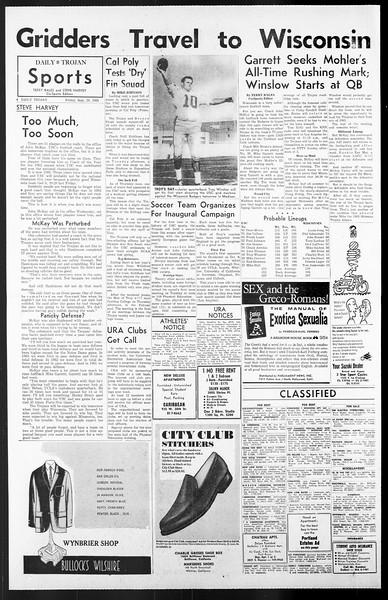 Daily Trojan, Vol. 57, No. 5, September 24, 1965