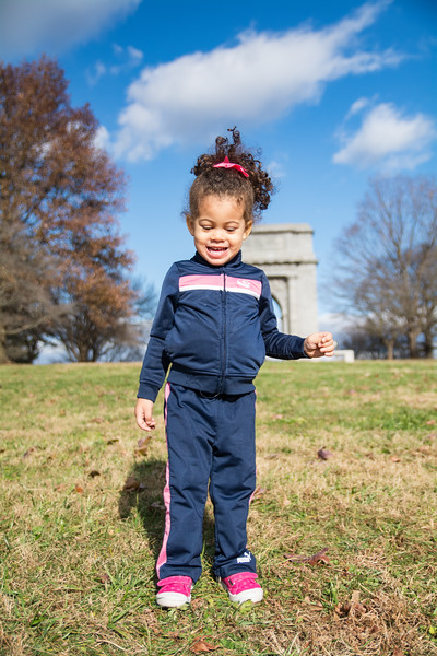 Penelope at Valley Forge (December 2018)