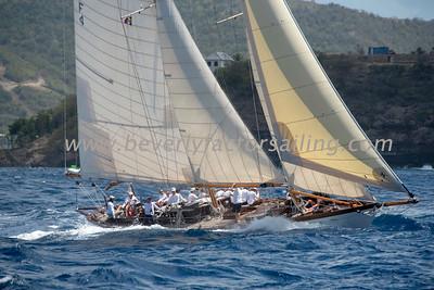 TICONDEROGA of GREENWHICH under sail