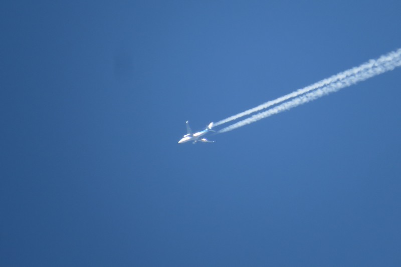 KLM Flight 623, Airbus A330-200 onroute from Amsterdam to Atlanta.JPG