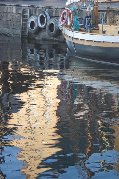 Boat at Bryggen