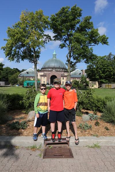 Boys at the Zoo 2015