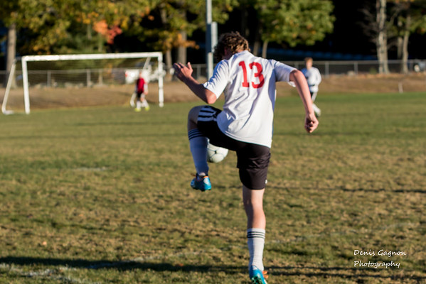 Newmarket Boys Soccer 101915