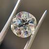 3.56ct Antique Cushion Cut Diamond 43