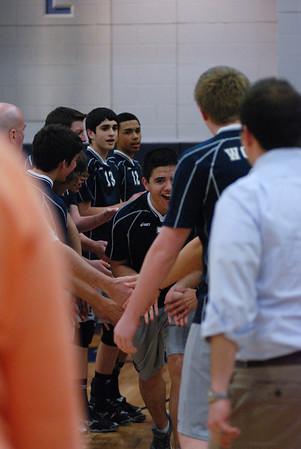 OE Varsity boy volleyball Vs Romeoville