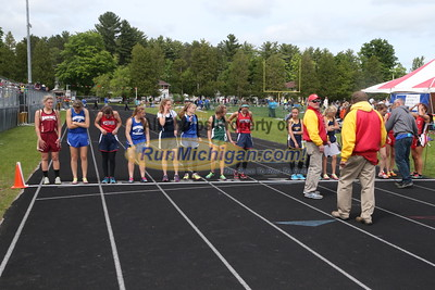 UP Girls' 3200 Meter Run - 2015 MHSAA TF Finals