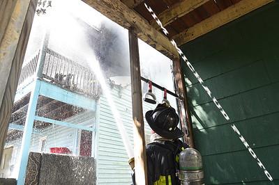 5 Alarm Dwelling Fire - Quincy St, Dorchester, Boston, MA - 7/21/19