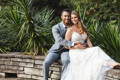 Grace & Davion   Intimate Garden Wedding at Fred Fletcher Park in Raleigh