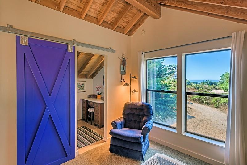 Ocean View from Loft Bedroom