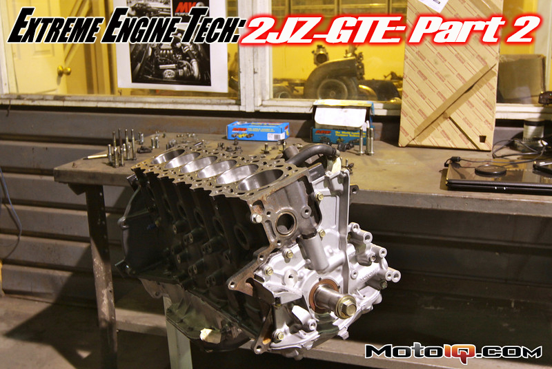 Modified by KC 2JZ-GTE engine block