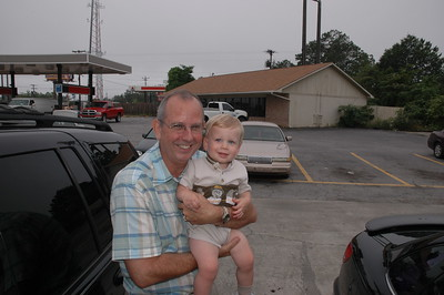 Meeting Andrew at Huddle House 6/2/2005