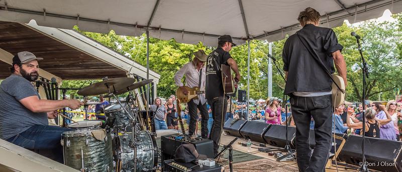 Erik Koskinen Band--2017 Rock Bend Folk Festival-St. Peter, MN.