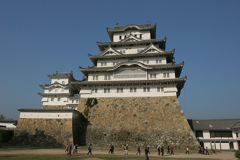 Himeiji Castle (White Egret Castle, one of the most beautiful samurai castles in Japan)