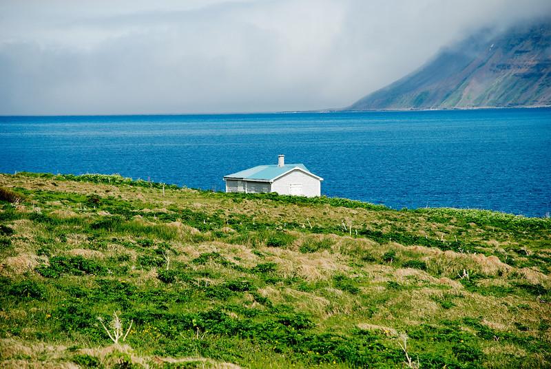 Aðalvík - Sæból. Móhús 2013.
