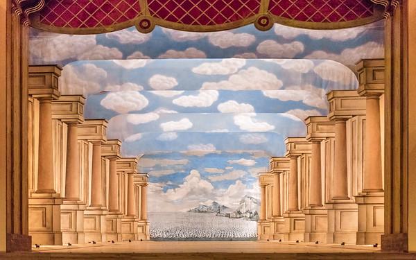 Zamek Valtice :: divadelni opony
