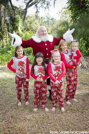 Santa 2019: Shiloh, Mallory, and Sophia