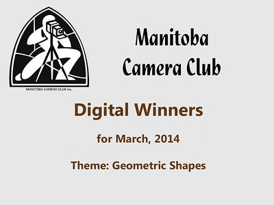 Digital Winners for March 2014 (Geometric Shapes)