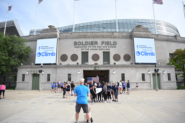 Fight for Air Climb 2021 Soldier Field