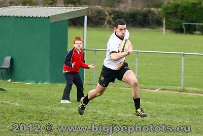 Rugby Garda V Dundalk 2012