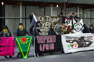 3.24.18 - Afrin Solidarity Protest