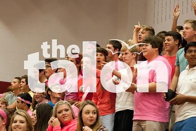 """Think Pink"" Pep Rally (9-12-14)"