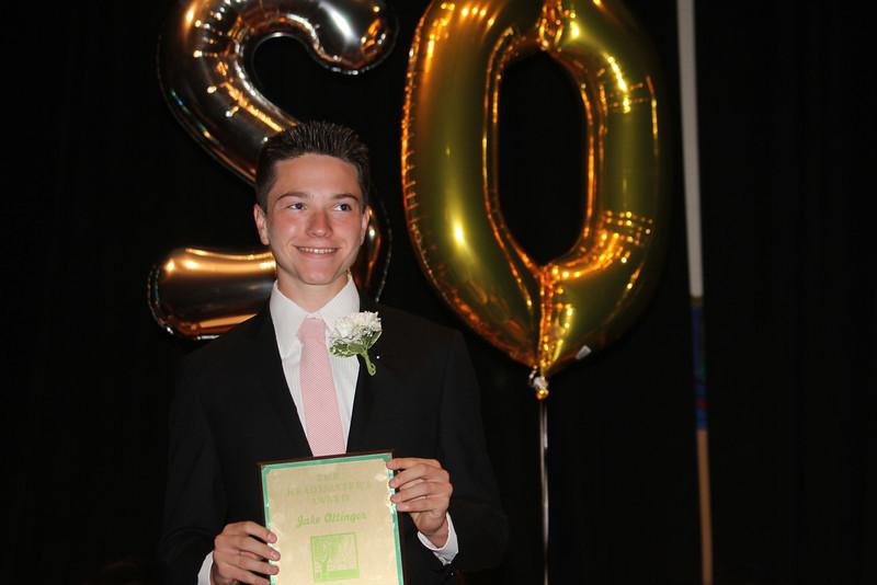 Jake Ottinger - Headmaster's Award
