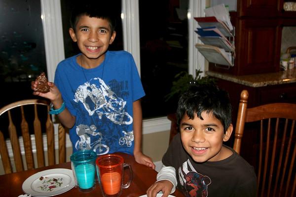 Jonathan and Joseph Visit