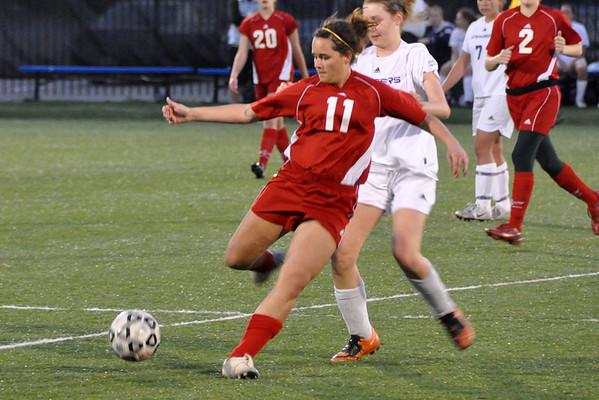 SHHS vs TWHS girl soccer 04/08/2010