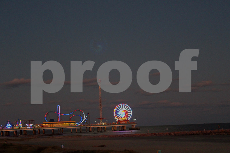 Pleasure Pier at Dusk